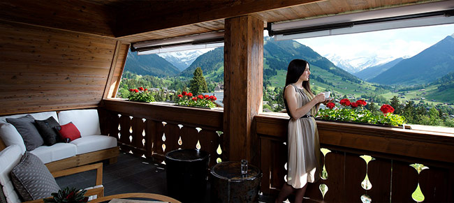Enjoy spectacular views year round at the Alpina