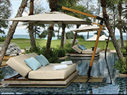 Relax surrounded by Orchid and Jasmine gardens